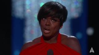 Viola Davis wins Best Supporting Actress