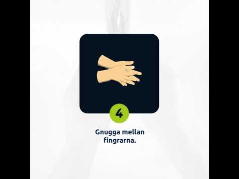 Så tvättar du händerna