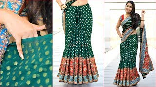 WEIRD TRICK To Get Perfect PLEATS on HEAVY Sari - How To Wear HEAVY Saree Perfectly | Anaysa