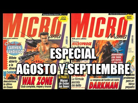 MICROMANIA SEGUNDA TEMPORADA AGOSTO Y SEPTIEMBRE 1991