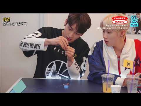 월간아이돌 최초 '꽝'을 뽑은 더보이즈! 과연 통과할 수 있을까(?) [월간아이돌/The Boyz]