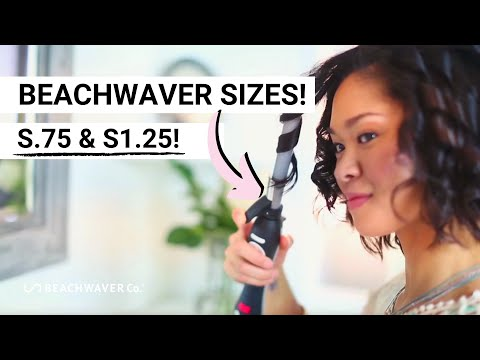 Introducing: The Beachwaver® S.75 & S1.25