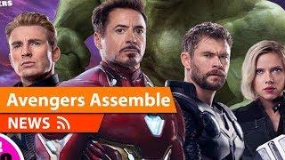 Avengers Endgame NEW Look at Team & Thanos Revealed