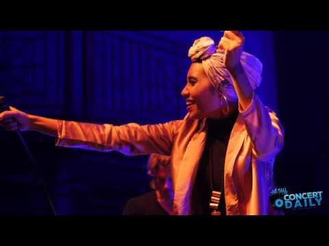 Yuna performs