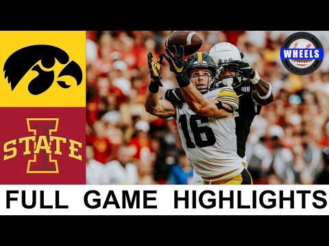 #10 Iowa vs #9 Iowa State Highlights | College Football Week 2 | 2021 College Football Highlights