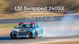 LS1 S13 240SX Drifting POV!!!