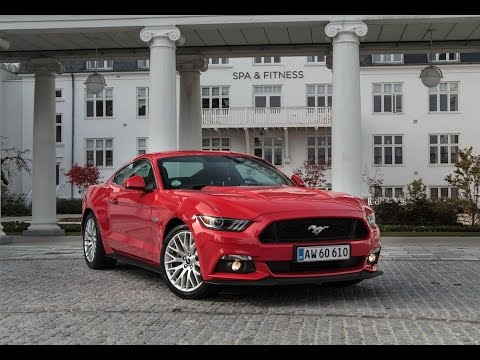Ford Mustang V8 GT - Amerikansk power til Europa