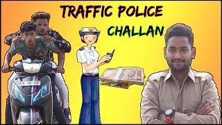 Kahani Traffic police Challan Ki | B3 Viners