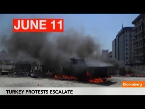 Turkey Protests: Timeline Of The Escalation Of Riots In Taksim Square - Smashpipe News Video