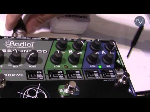 [NAMM] Radial Bassbone OD