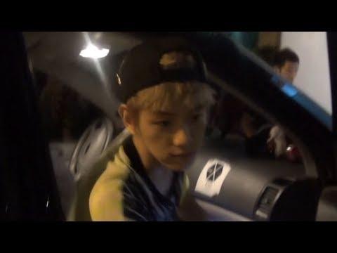 EXO Entering SM Building 130814