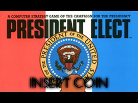 President Elect (1981) - Apple II - Carter vs Reagan
