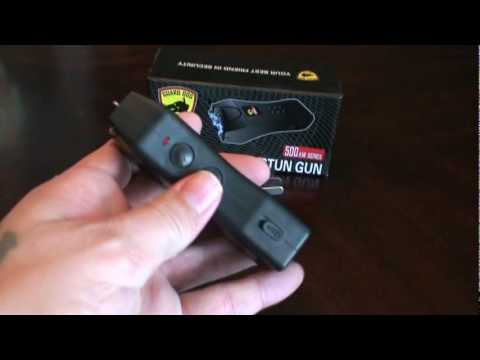 Guard Dog Mini 500 000 Volt Stun Gun Youtube
