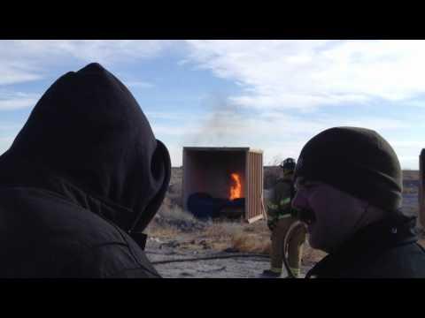 2012 Utah I.A.A.I- Incindiary Device Burn Cell