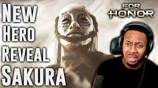 For Honor Sakura Reaction ∙ New Samurai Hero Reveal Trailer