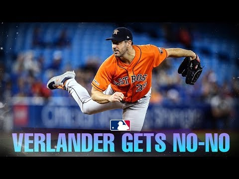 Justin Verlander gets 3rd career no-hitter!