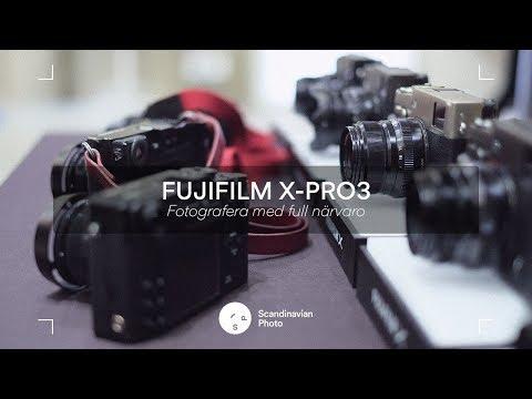 Fuji X-Pro3 – Fotografera med full närvaro