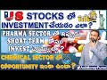 US Stocksలో Investment చెయ్యడం ఎలా? How to buy stocks at low price & sell at high price?