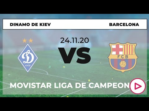 Horario Dinamo de Kiev Barcelona
