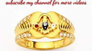 venkateswara gold ring on fingers Videos - Playxem com