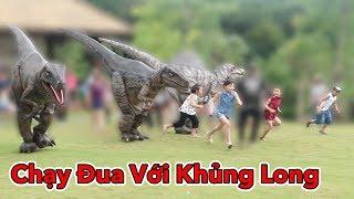 Lâm Vlog - Chạy Đua Với Khủng Long   Công Viên Khủng Long Jura Park