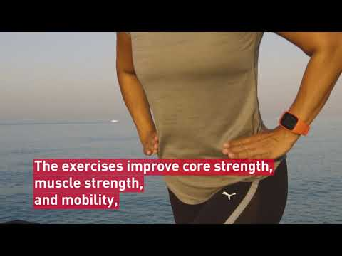 Free running plan with supportive exercises | Polar M430 running watch