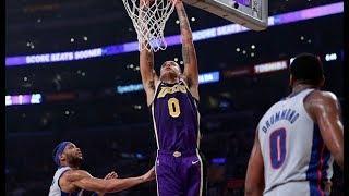 Lakers defeat the Piston behind Kuzma 41 pts/Ingram vs. Kuzma/The Walton tease