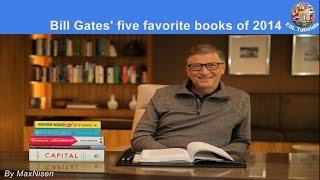 [ESL Tutorials] - Bill Gates's five favorite books of 2014