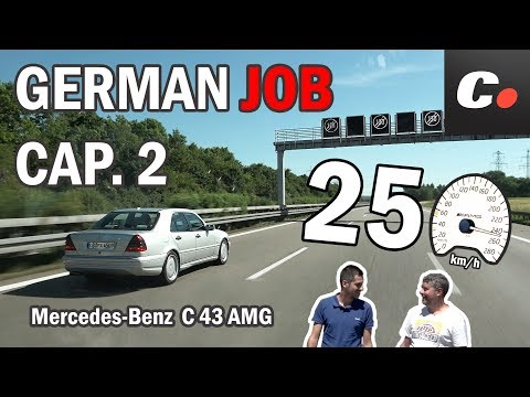 GERMAN JOB Cap. 2 | Mercedes-Benz C43 AMG W202 | Prueba / Test / Review en español | coches.net
