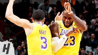 Los Angeles Lakers vs Chicago Bulls - Full Game Highlights | March 12, 2019 | 2018-19 NBA Season
