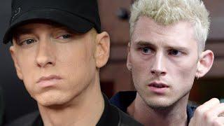 Machine Gun Kelly Reacts To Eminem Diss On 'Gnat'