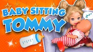 Barbie - Babysitting Tommy   Ep.143