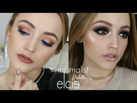 2 LOOKS Using 1 PALETTE | Elcie Minimalist Palette Tutorial