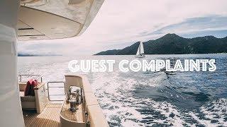 Yacht Crew Receive Guest Complaint | #superyachts