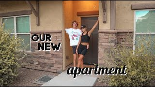 moving into our new apartment together at 18!!!