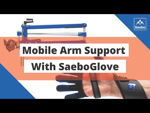 Mobile Arm Support (SaeboMAS) with SaeboGlove