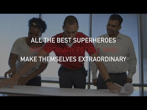 Traits of a superhero in engineering