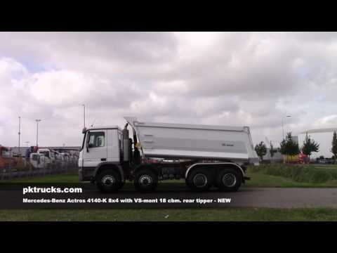 me3760 Mercedes Actros 4140-K rear tipper