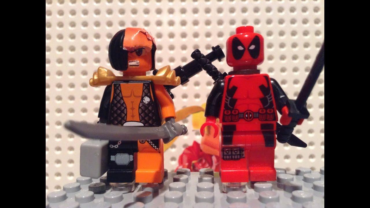 LEGO Death Stroke Cust...