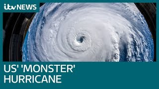 Mass evacuation in US over 'monster' Hurricane Florence | ITV News