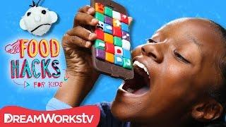 Edible Chocolate PHONE! + Wimpy Kid Food Hacks   FOOD HACKS FOR KIDS