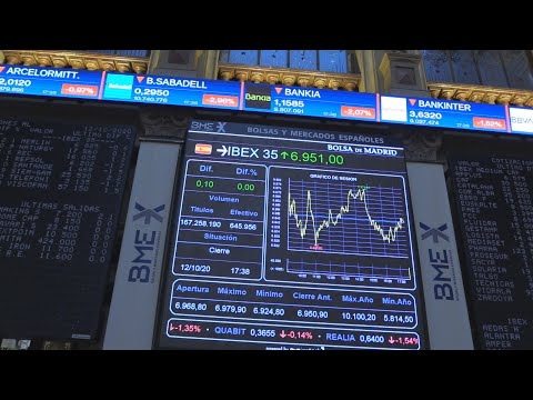 El Ibex 35 termina plano en los 6.951 puntos