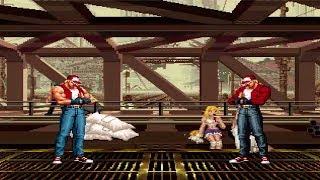 Mugen - King of Fighters - Terry Bogard vs. Terry Bogard -泰瑞·柏格 (XIII版) vs. 泰瑞·柏格(XIV14版)
