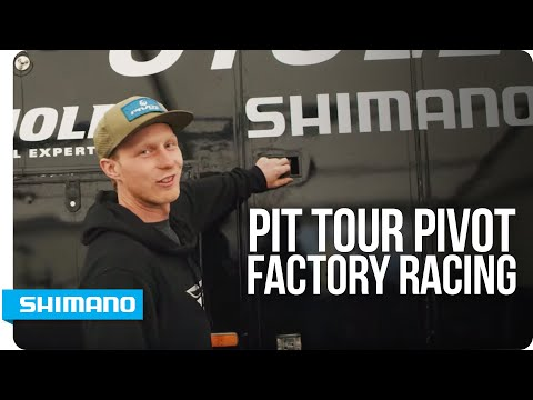 Pit Tour - Pivot Factory Racing with Bernard Kerr | SHIMANO