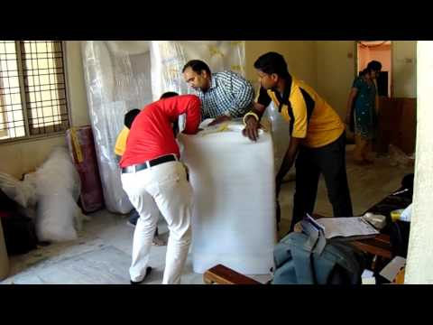 Agarwal Packers and Movers Washing Machine Packing Process | Agarwal Packers and Movers