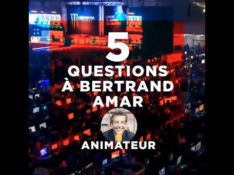 5 questions à Bertrand Amar - Animateur TV
