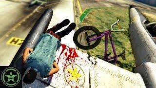Let's Play: GTA V - Sky Bike