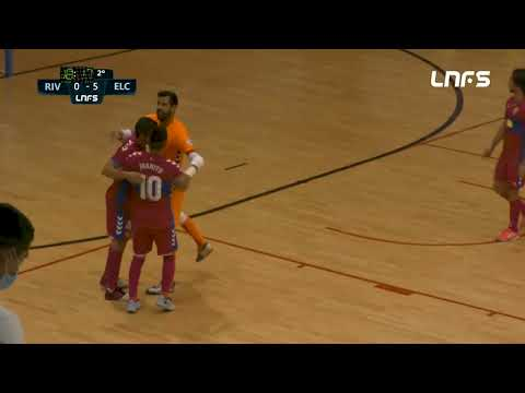 Rivas Futsal - Elche CF Jornada 10 Grupo D Segunda División Temp 20 21