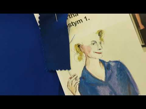 """Edward Albees """"Vem är rädd för Virginia Woolf?"""" – Kostym och scenografi."""
