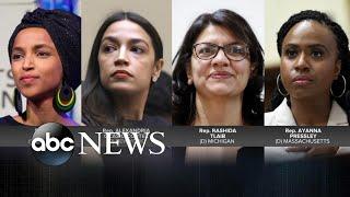 Trump continues his attacks against 4 minority congresswomen